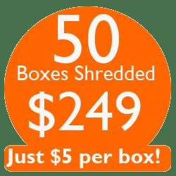 $5 per box