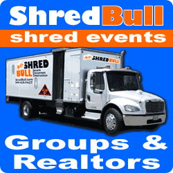 Realtor groups church organization shredding events Orange County