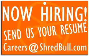 Now Hiring Shredding Jobs