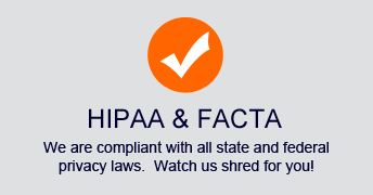 we are hippa and facta compliant