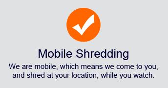 Mobile Secure Affordable Shredding
