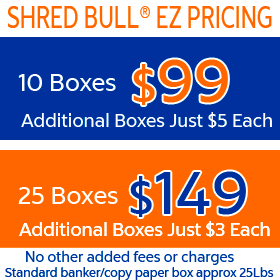 Shred Bull Shredding - 10 boxes just $99